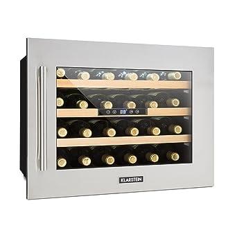 KLARSTEIN Vinsider 24D - Nevera para vinos, Nevera para Bebidas ...