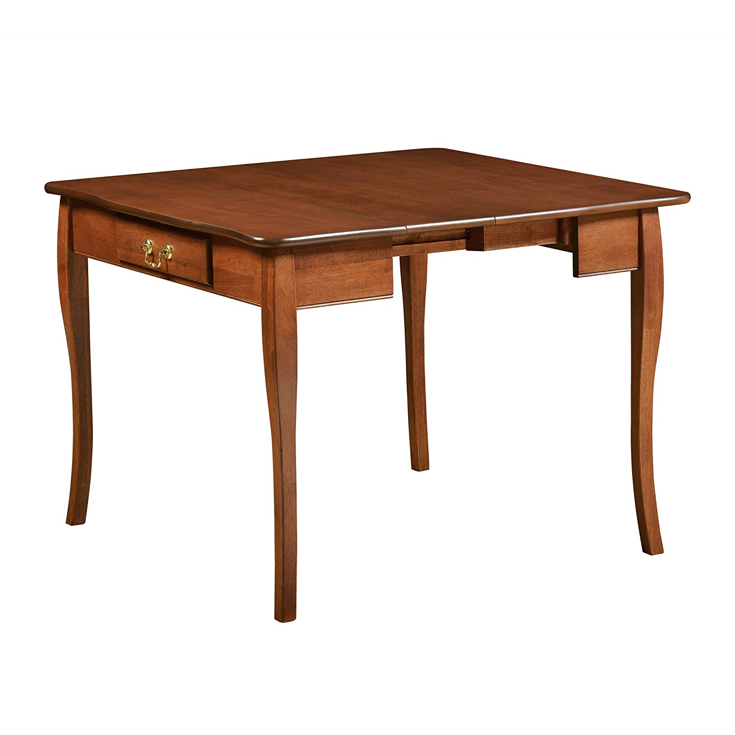 Jok Table.Amazon Com Stakmore Traditional Expanding Table Finish Cherry
