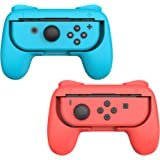 Talkworks Grips for Nintendo Switch Joycon Controller (2 Pack) - Game Accessories Joy-Con Handheld Joystick Remote Control Ho