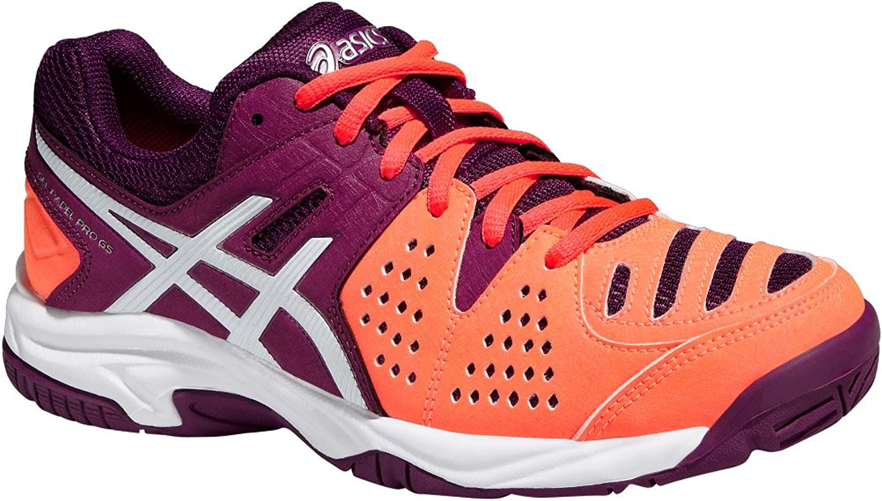 Asics Tenis Gel-Padel Pro 3 Gs Coral / White 37 Junior: Amazon.es ...