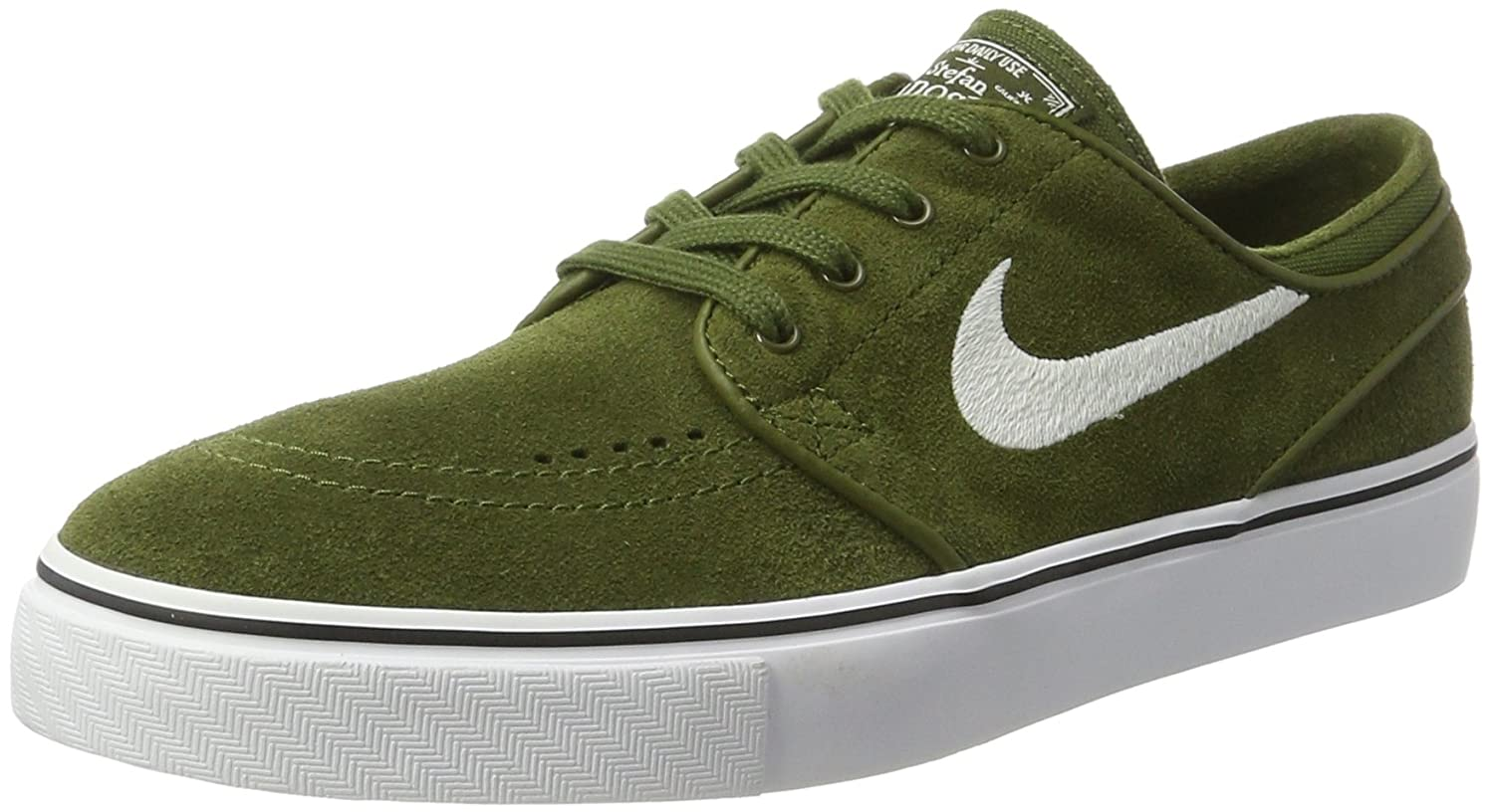 NIKE Men's Zoom Stefan Janoski Skate Shoe B01N9P2DTE 10 D(M) US|Legion Green / White-black