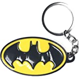 Amazon.com: DC Logo Batman de color Pewter Llavero: Toys & Games