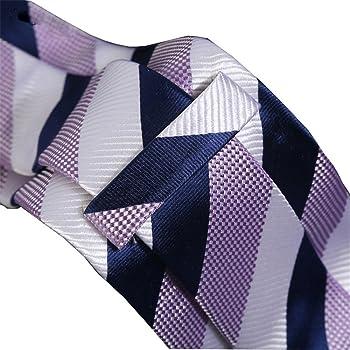 Necktie WERLM Corbata de seda de los hombres 7 cm tela de seda ...