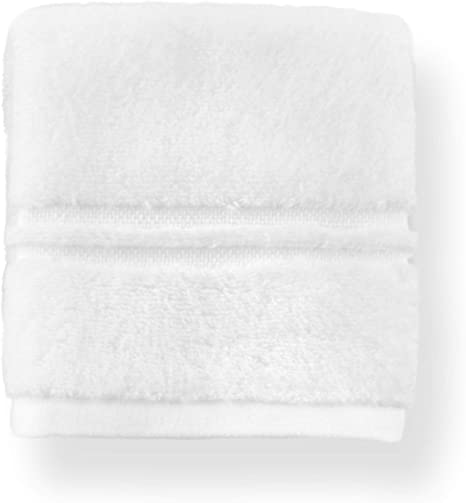 Amazon Com Peacock Alley Chelsea Wash Cloth 12 X 12 Luxury Towels With Zero Twist Technology Thick And Fluffy Yet Light As A Feather 100 Long Staple Cotton