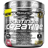 MuscleTech Platinum 100% Creatine Powder, 400 g