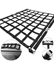 amazon cargo nets truck bed tailgate accessories automotive 1969 Dodge Truck mophorn cargo net 3 5 x 4 1 truck bed cargo net with cam buckles