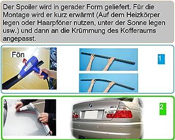 Car Tuning24 50445149 Wie Performance Und M3 3er E36 M3 Cabrio Spoiler Heckspoiler Spoilerlippe Lippe Heckspoilerlippe Auto