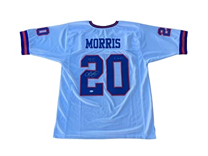 buy online 69d52 f3376 Signed Joe Morris Jersey - SB Champs & Pro Bowl - JSA ...