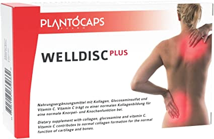 Amazon.com: WELLDISC PLUS Intervertebral Disc Capsules for your back | lower  back pain| backache | disc prolapse | back cure: Health & Personal Care