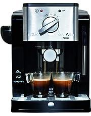 Solac Squissita New CE4491 Cafetera Express 900 W, 0 Decibeles, Acero Inoxidable