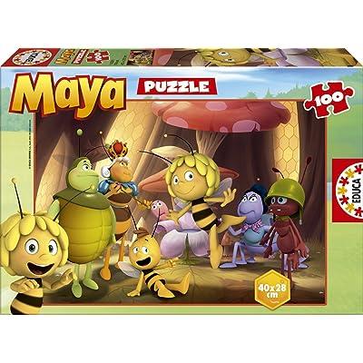 Educa Borrás 15091 - 100 Maya: Juguetes y juegos