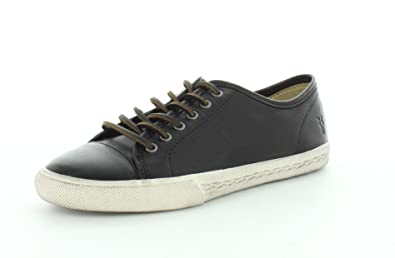 Frye Women's Mindy Low Sneakers, Black, 5.5 B(M) US