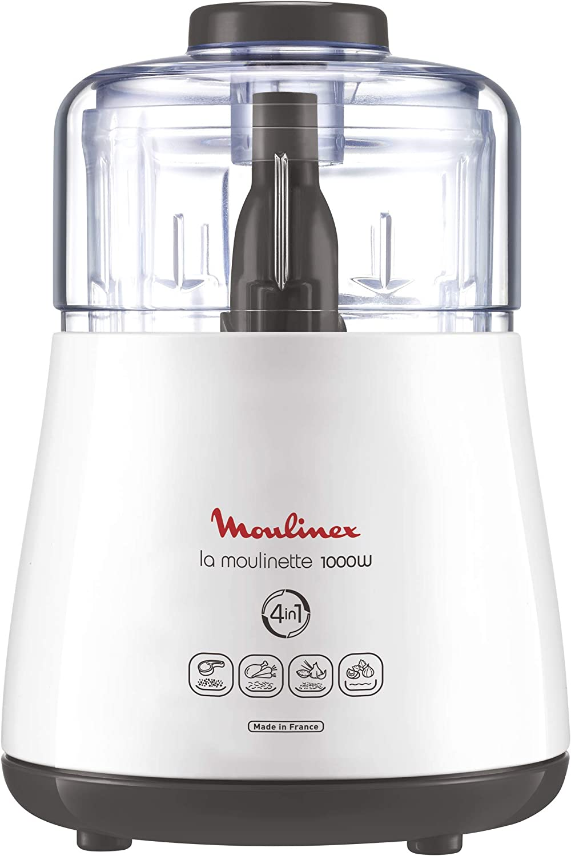 Moulinex DPA141 Molinillo, 1000 W, 0.33 L, plástico, color blanco ...