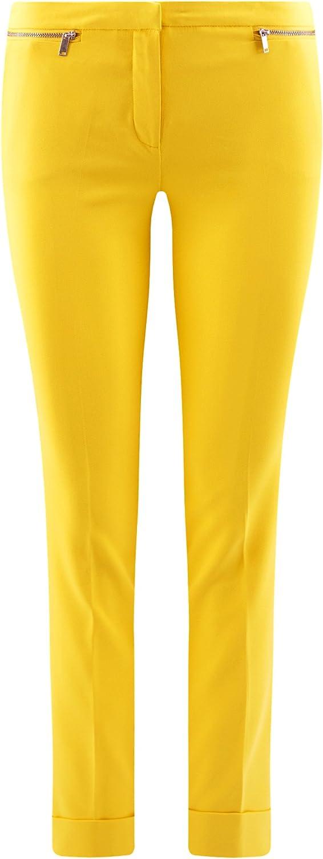 oodji Ultra Donna Pantaloni Stretti con Zip Decorative