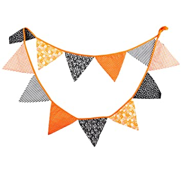Amazon Com 10 5 Feet Triangle Pennant Flags Gothic Bunting Banner