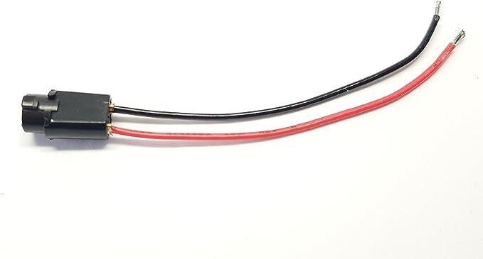 2x T5 W1 2w Lampen Fassung Glas Steck Sockel Stecker Standlicht Kunststoff Tacho Auto