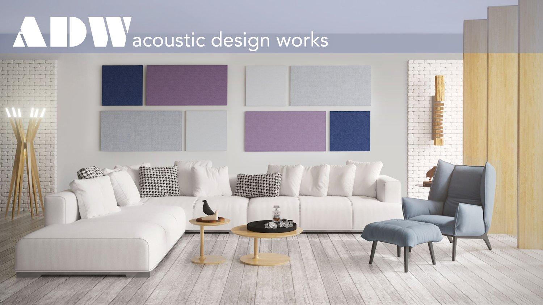 "Amazon.com: ADW Acoustic Panels 40"" X 34"" X 2"" Diamond Layer Kit ..."