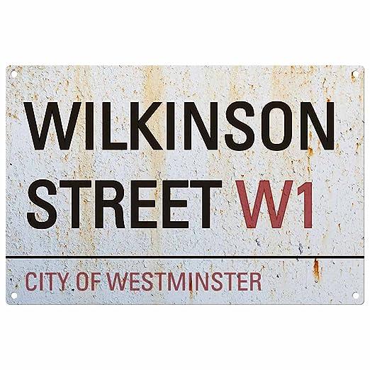 Personalizado Apellido Cartel del Camino de Londres ...