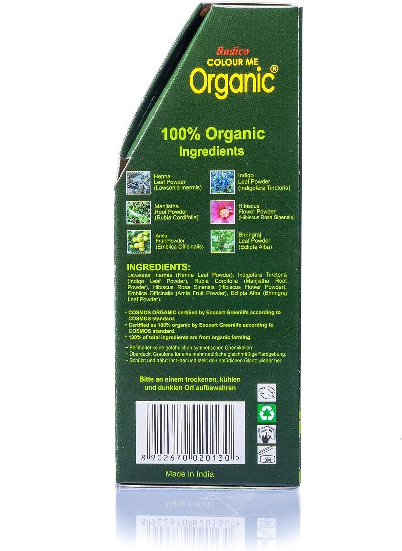 Radico - Tinte vegetal orgánico para el cabello - Borgoña