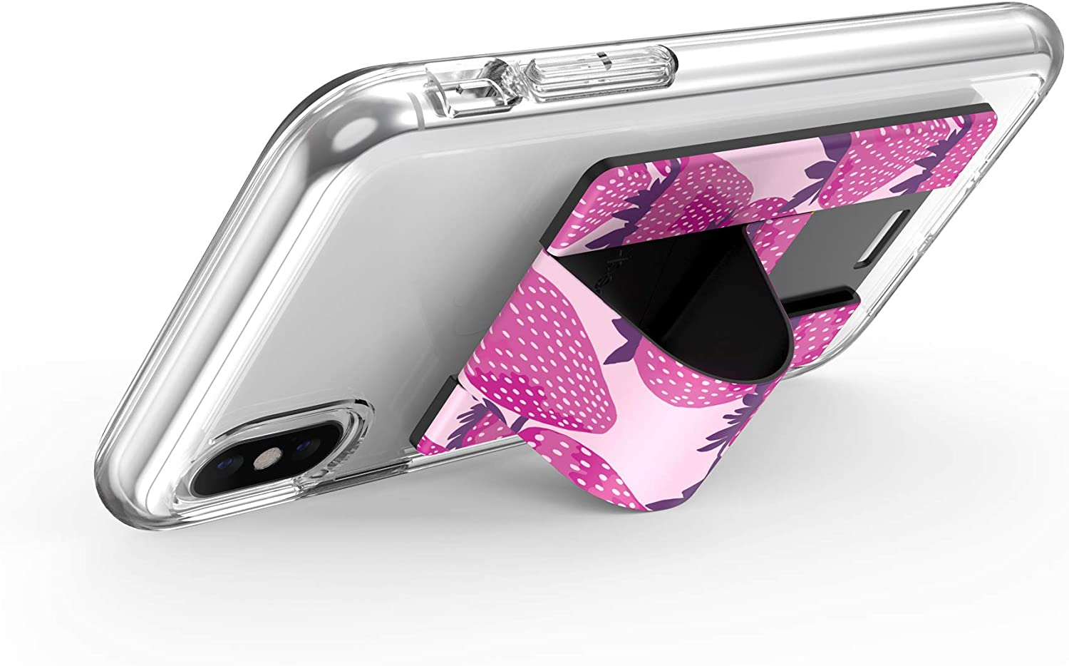 Cases Speck Products GrabTab Cell Phone Holder and Stand Works With Most Cell Phones TGIFriday Black