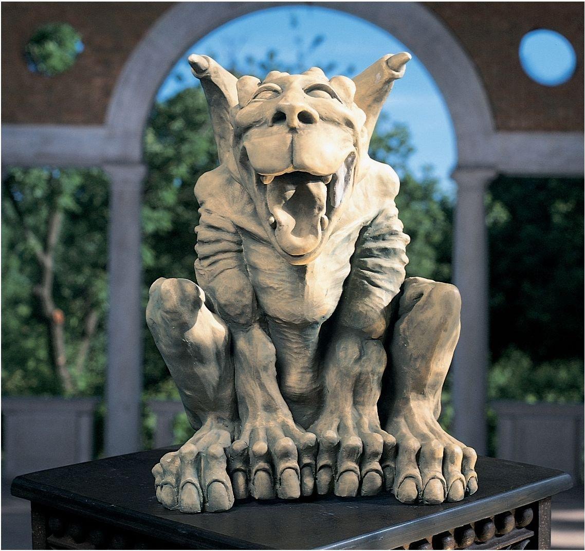 Leo the Laughing Gargoyle Statue Large