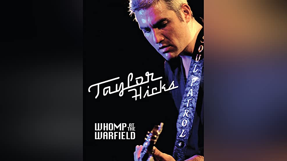 Taylor Hicks: Whomp at the Warfield
