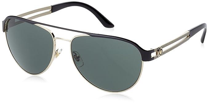 Versace 0VE2165 136671 58, Montures de Lunettes Femme, Noir (Nero)  Amazon. fr  Vêtements et accessoires 385ae626d165