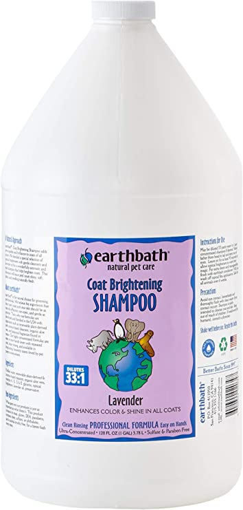 EARTHBATH Light Coat Shampoo 3.8L: Amazon.es: Productos para mascotas