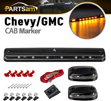OEM Roof Mounted Clearance Lamps 2007-2014 Chevrolet Silverado GMC Sierra ALL 3