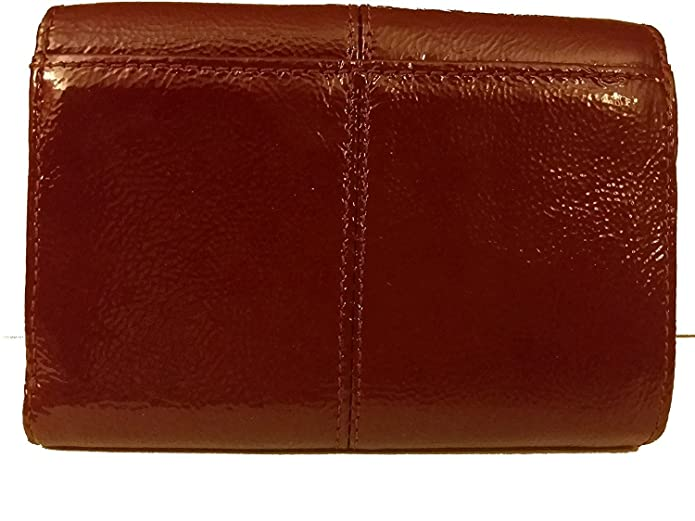 Amazon.com: Coach Ashley Patent piel Medium Compact 48248 ...