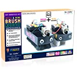 Mega Brush Bot DIY Robotics Activity Kit 2-In-1 Pack