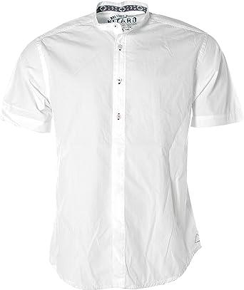 Kitaro - Camisa casual - punta redonda - manga 3/4 - para ...