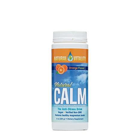 NATURAL VITALITY CALM, 8 OZ by Natural Vitality