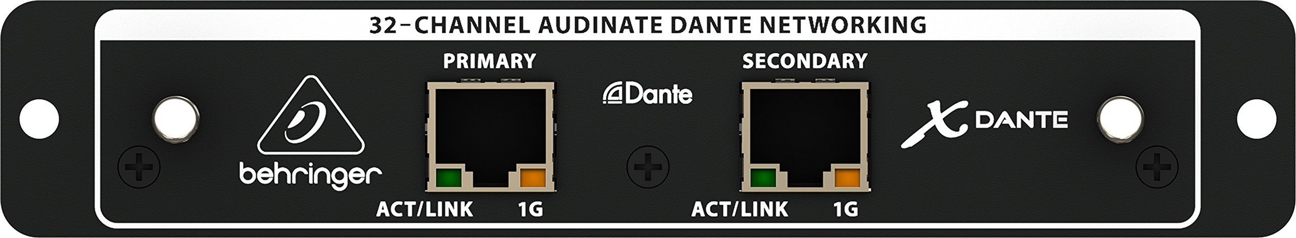 Behringer X-Dante High-Performance 32-Channel Audinate Dante Expansion Card for X32