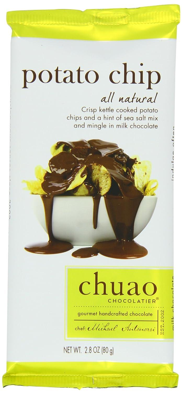 Amazon.com : Chuao Chcolatier Milk Chocolate Bar, Potato Chip, 2.8 ...