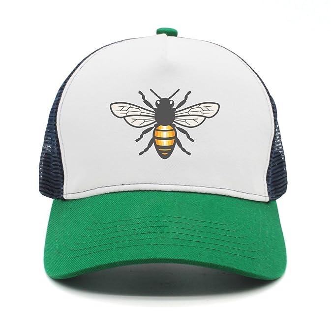 Amazon.com  srygjukuu Personalized Honey Bee Trucker Hat Adjustable ... e7df0c241b7