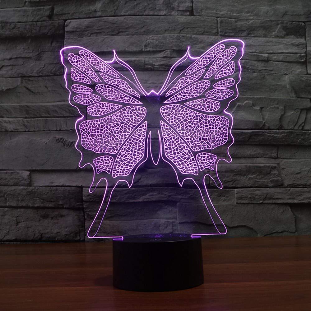 D4creativo Mariposa Gradiente 3d Xiaoxinyuan Colorido 8Onwk0NPX