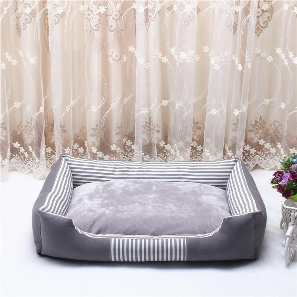 D 503813cm D 503813cm Desti Flakes Pet Bolster Dog Bed Comfort Kennel Dog mat (color   D, Size   50  38  13cm)