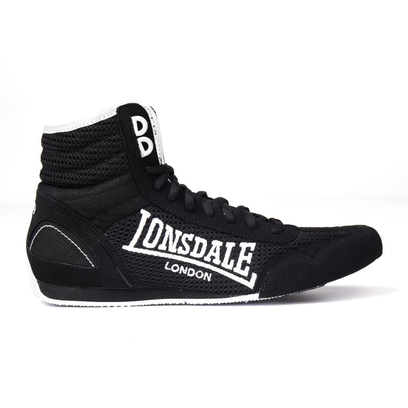 Lonsdale Contender Low Junior Boys Boxing Boots