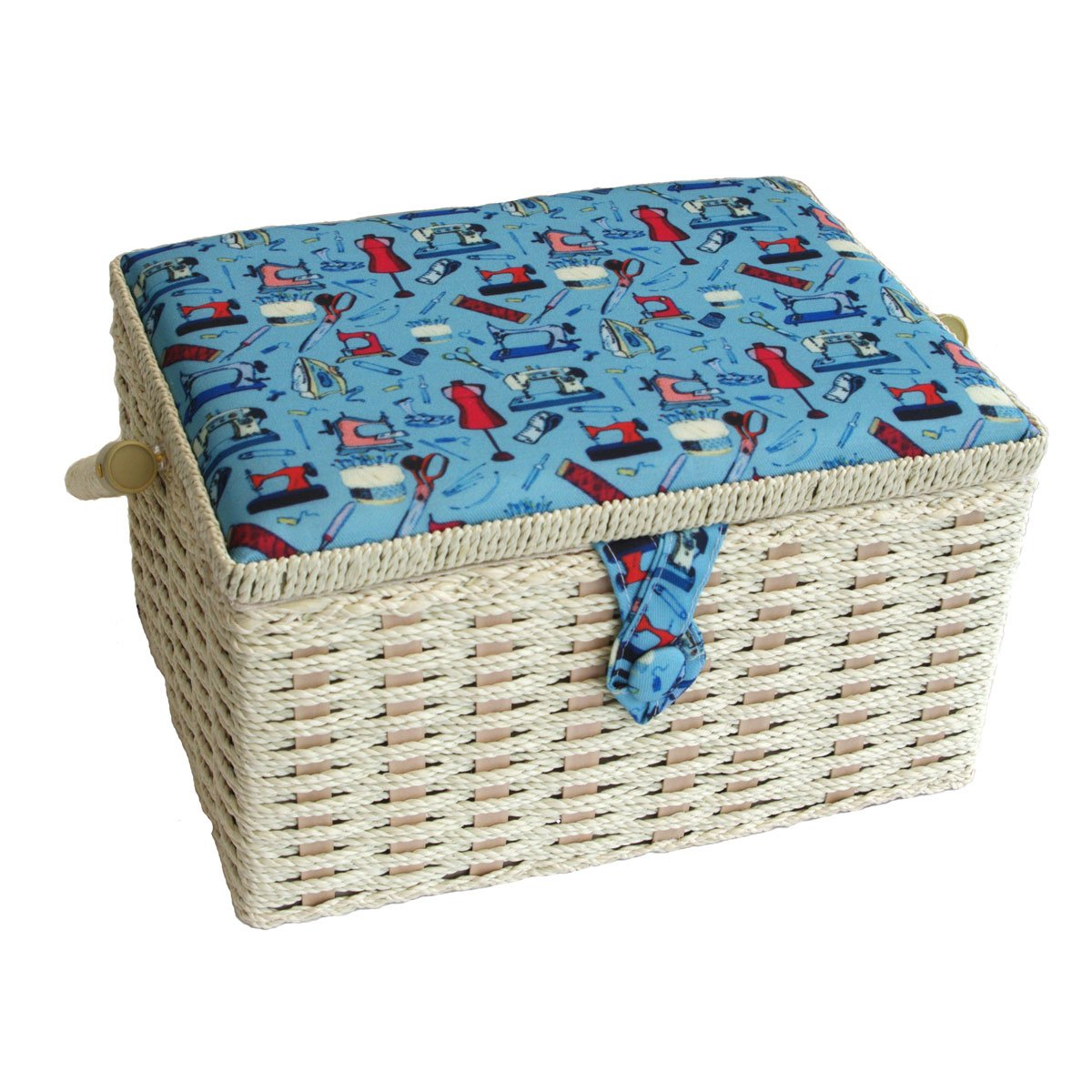 Sewing-Online Small Sewing Notions Sewing Basket 26 x 19 x 15cm FM-006 Groves Asia