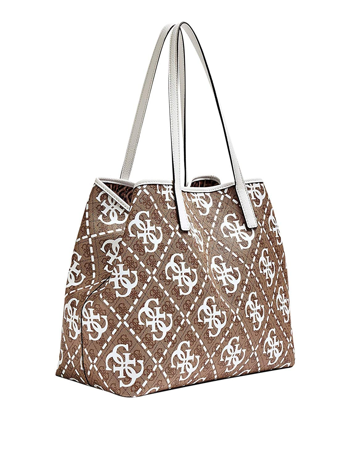 Guess vikky large tote amazon shoes bianco tote
