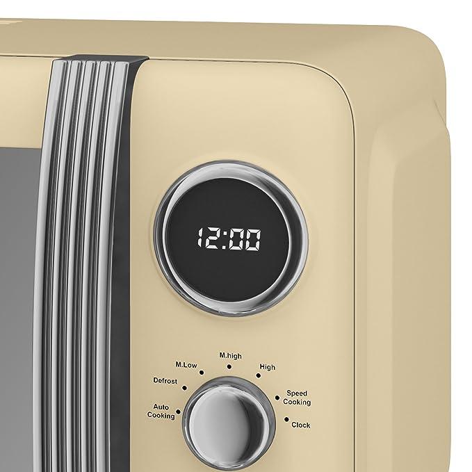 Amazon.com: Swan Retro Digital microondas, 20 litros, 800 W ...
