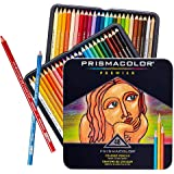 Prmacolor Colored Pencils Soft Thick Core Artist Pencils Assorted Colors Coloring Pencils Set for Adults and Kids 48 PCS