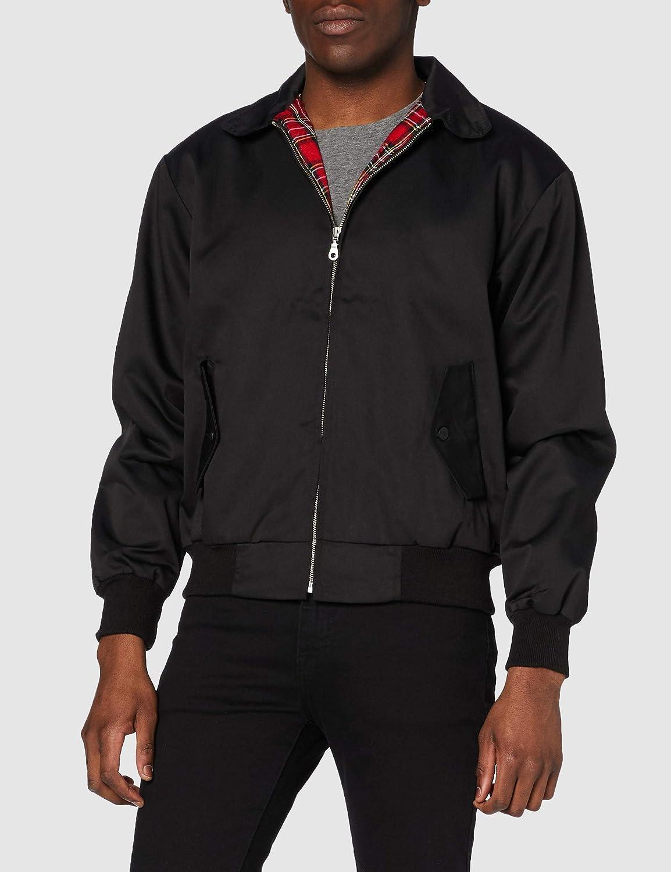 Knightsbridge Harrington chaqueta para hombre Chaqueta de otoño chaqueta Scooter chaqueta Bomber chaqueta muchos colores tamaño XS-3X L