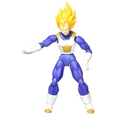 Bandai Tamashii Nations S.H. Figuarts: Dragon Ball Z - Super Saiyan Vegeta Premium Color Edition: Toys & Games