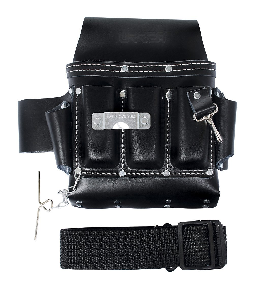 7 Pockets Urrea BN133 Industrial Leather Tool Belt