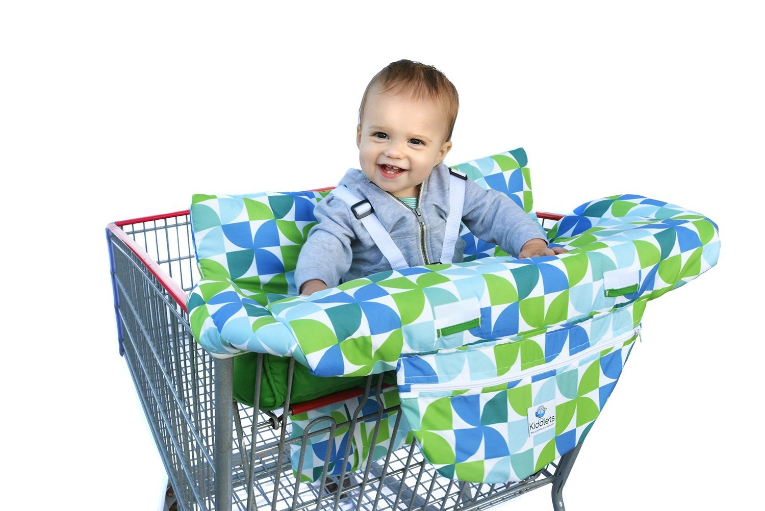 Insert Cushion Holder for Boys Restaurant High Chair Costco Sized Grocery Shopping Cart Baby Seat Cover Infants Toddler Girls
