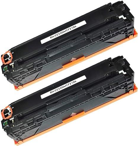 2 PK CF210A Toner Cartridge For HP LaserJet Color 200 M251nw M276nw M276n M251n