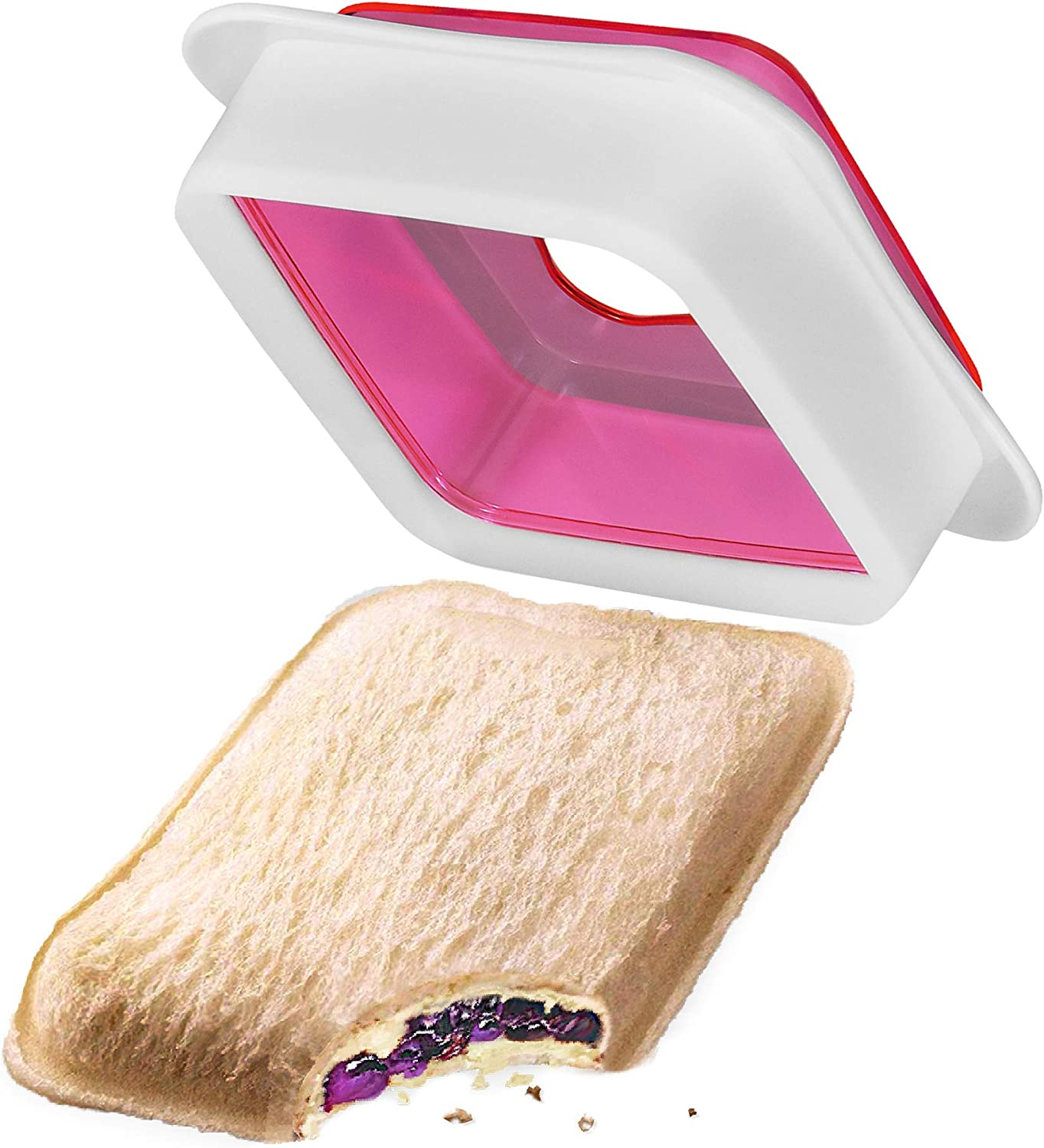 Affordable Sandwich Cutter and Sealer – Cutting Food Sealer for Sandwiches – Premium Peanut Butter Maker for Kids – Quick and Easy to Use – No Mess Tasty Food Cutters for Kids