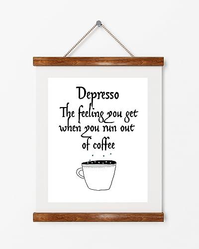 Amazon Kitchen Art Print Modern Art Print Depresso Coffee